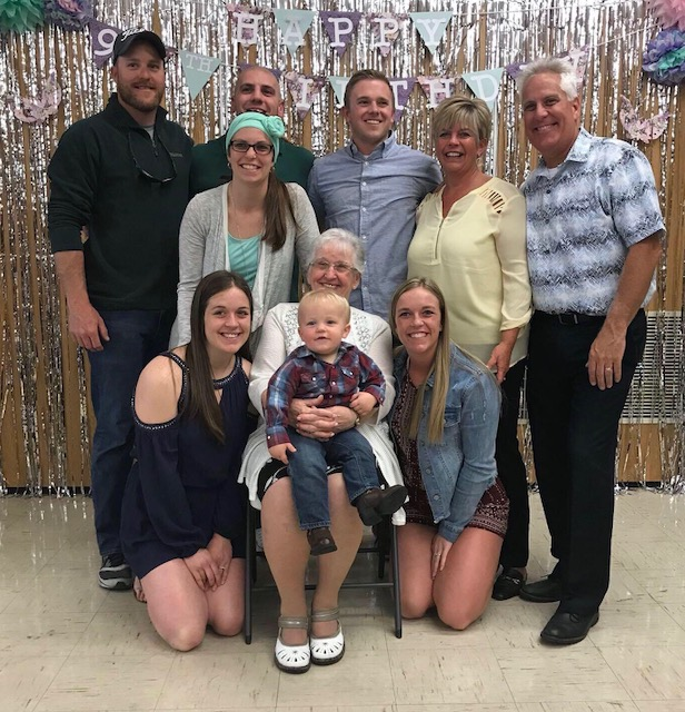 Kelly Hussey and family celebrate a milestone birthday