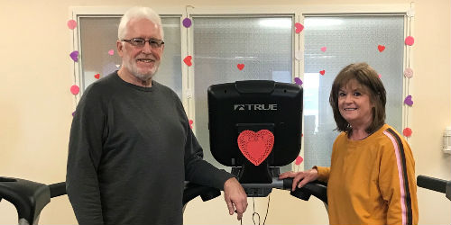 Cardiac rehab in Mattoon turns a fortune and builds a friendship