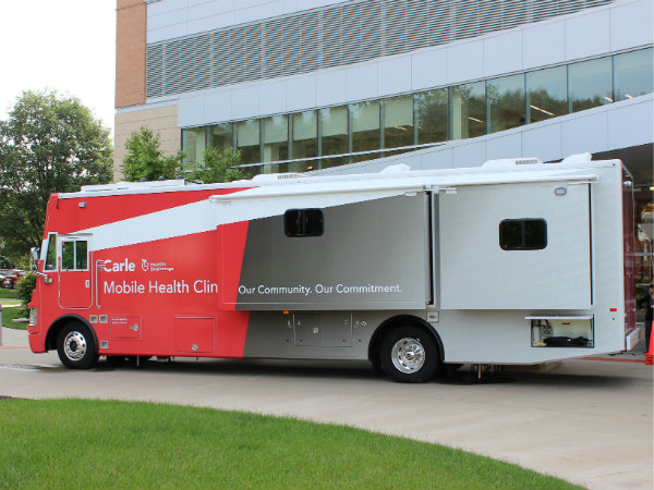 Carle Mobile Health Clinic expands access in Champaign-Urbana
