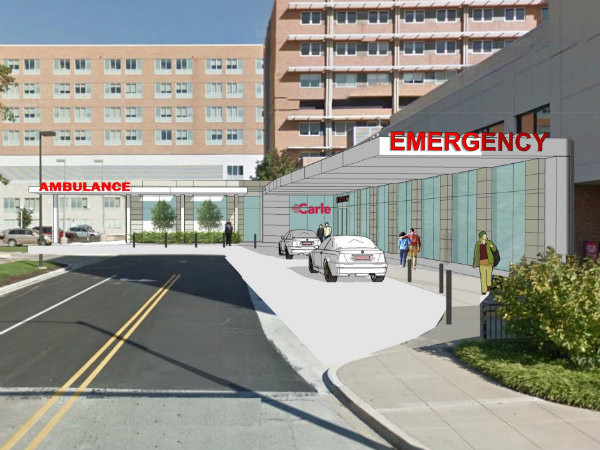 Rendering of Ambulance ED Entry