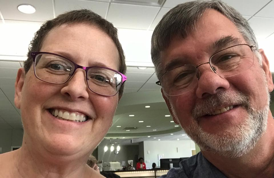 Couple's stroke-care experience lets long love story continue