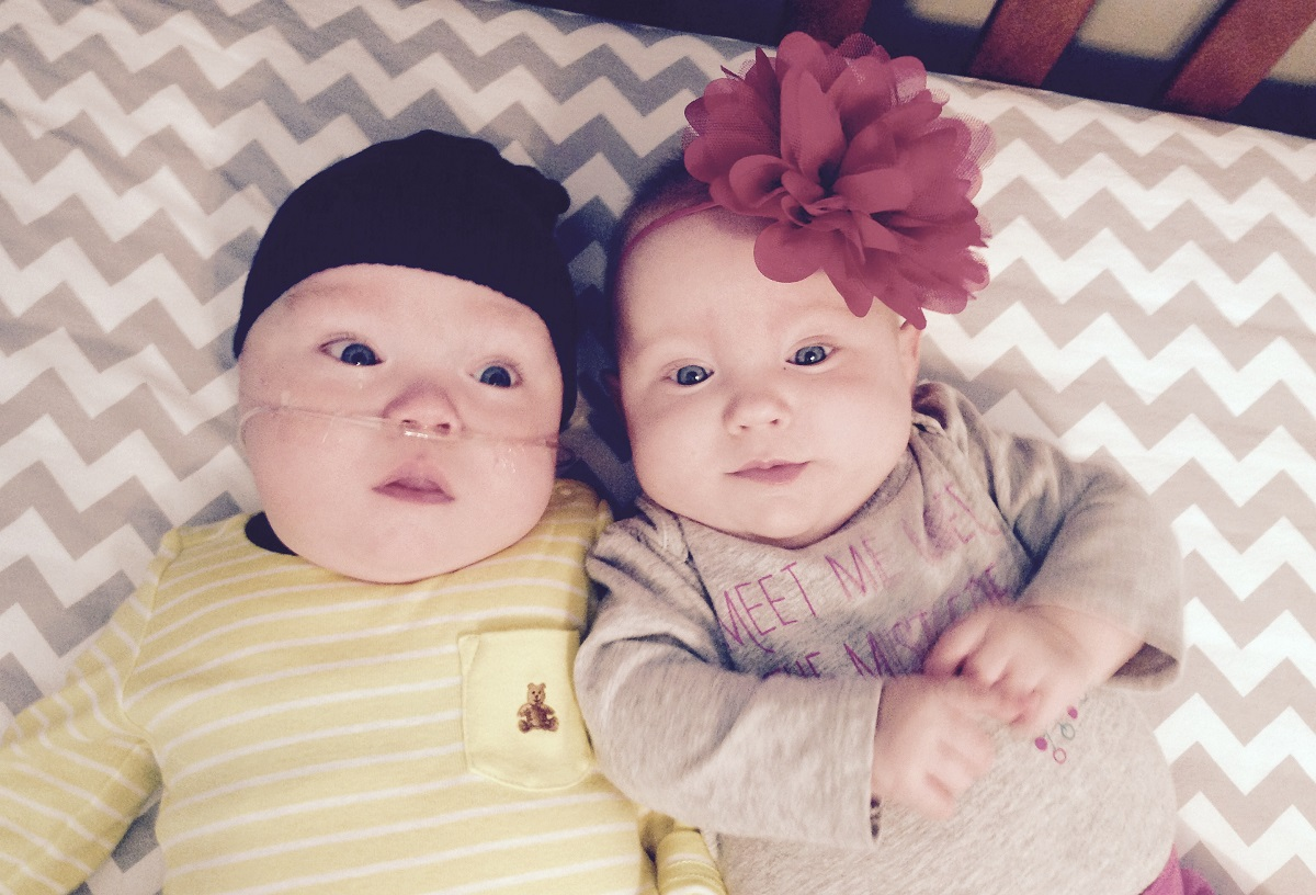 Tiny twins grow up at Carle, reach exciting new phase together