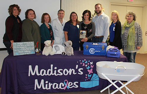 Teutopolis couple make donation to CRMH in memory of their son